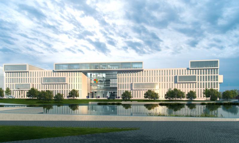 Microsoft Headquarter München Wettbewerb